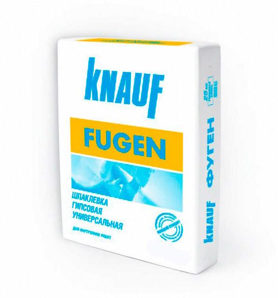 Шпаклевка гипсовая- Затирка для ГКЛ Knauf Fugen-Фуген 25 кг  шпаклевка для заделки сколов