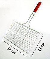 Хромированная решетка для гриля 34x22 см
