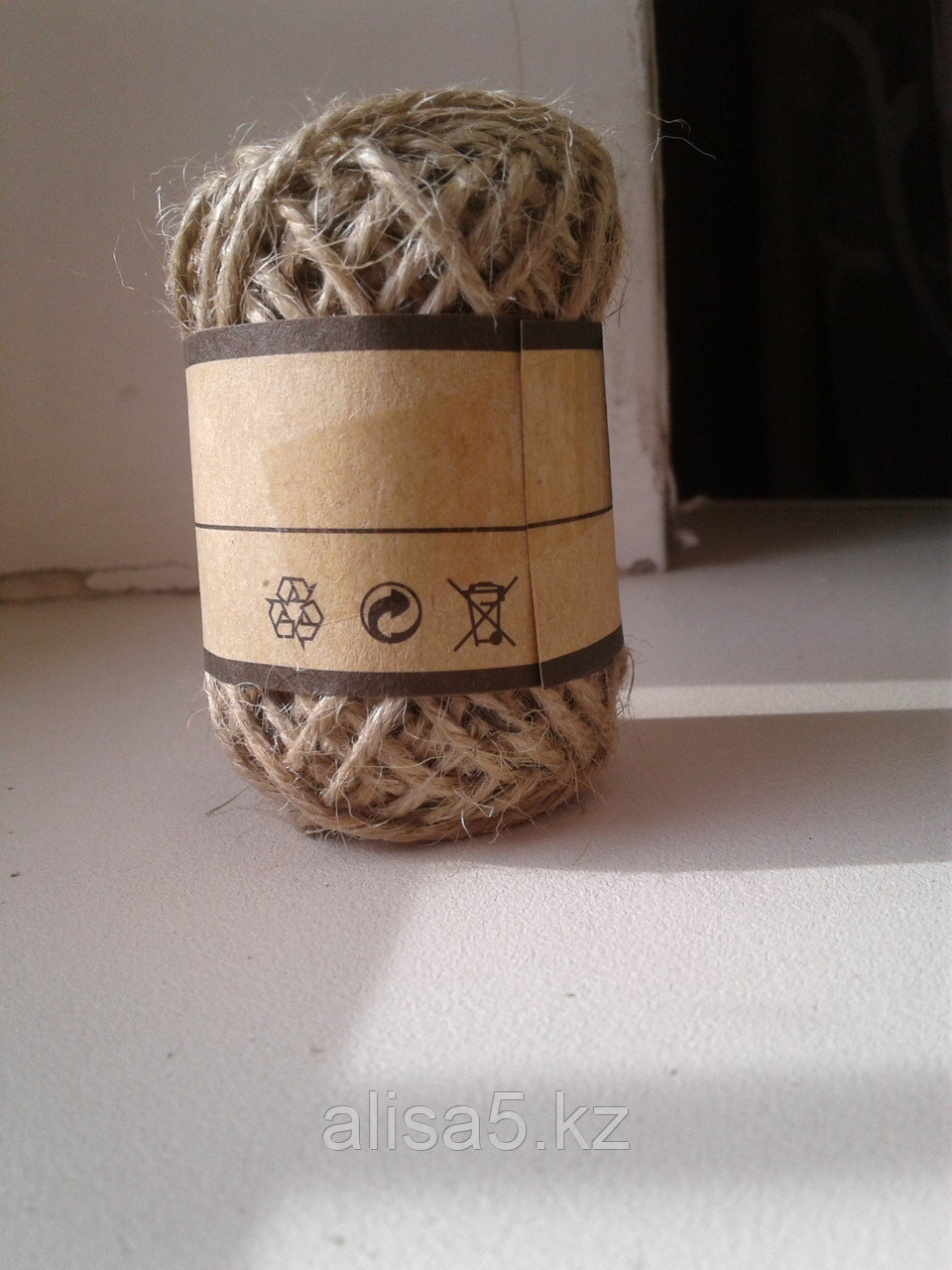 Веревка - Шпагат джутовый (Бечевка декоративная) 10м