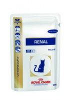 Royal Canin Renal (цыпленок) пауч для кошек при почечной недостаточности (12 шт. по 100 гр), фото 1