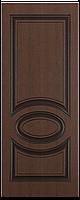 """Дверь межкомнатная глухая """"Неаполь"""" ясень коричневый"""