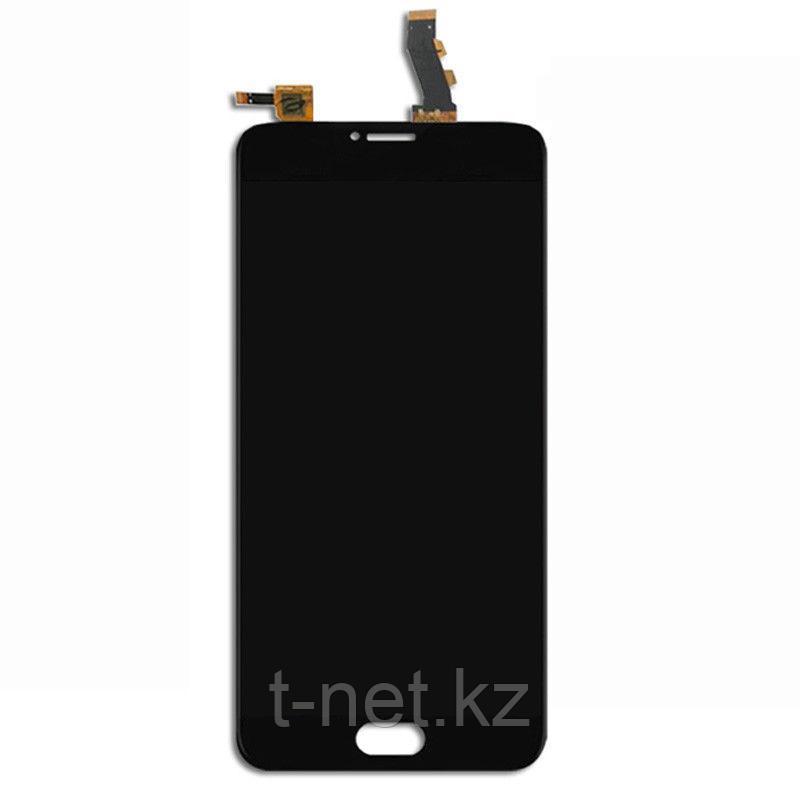 Дисплей MEIZU U10 U680H , с сенсором, цвет черный