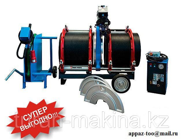 Аппарат для стыковой сварки полиэтиленовых труб Turan Makina AL 500