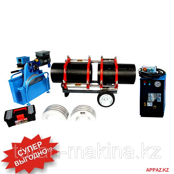 Аппарат для стыковой сварки пластиковых труб Turan Makina AL 315