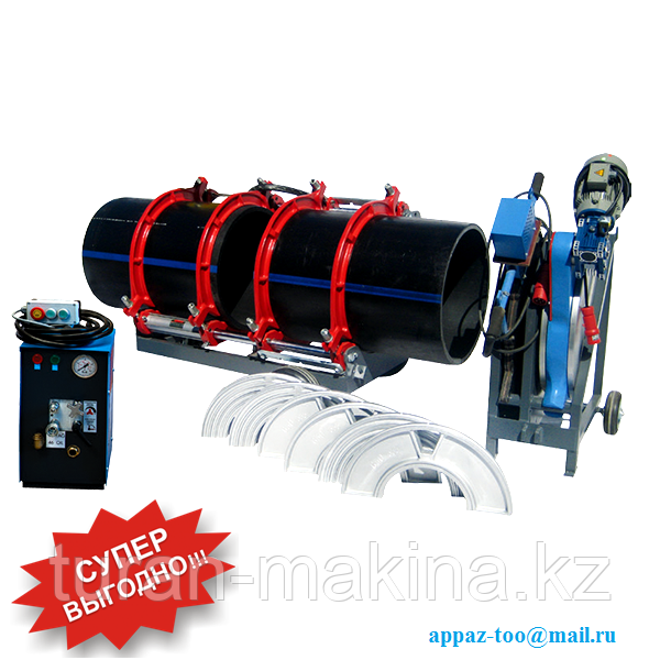 Сварочные аппараты для полиэтиленовых труб Turan Makina AL 630 (315-630 мм)