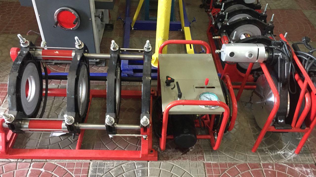 Гидравлический аппарат для стыковой сварки пластиковых труб 160-315мм