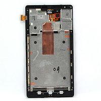 Дисплей Nokia Lumia 1520 , с сенсором, цвет черный