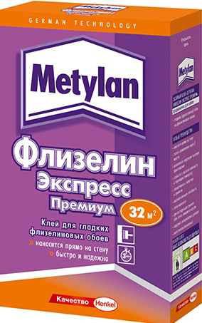 Обойный клей для флизелиновых обоев 210 г