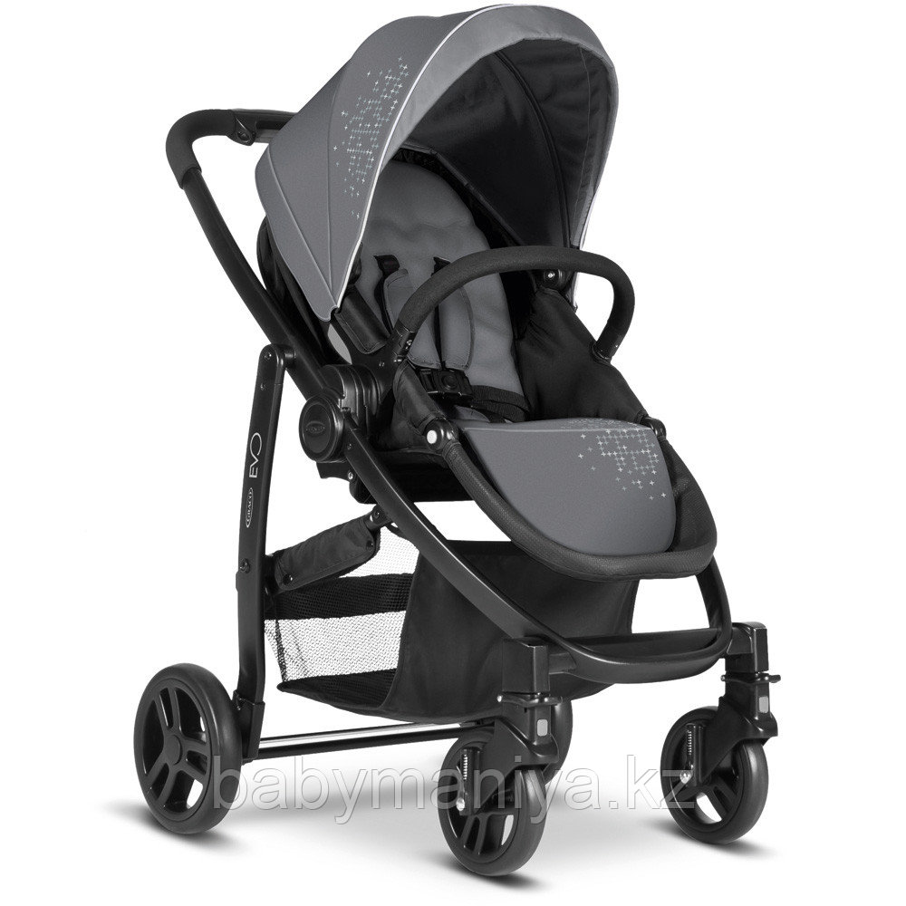 Коляска 2 в 1 Graco EVO TS charcoal