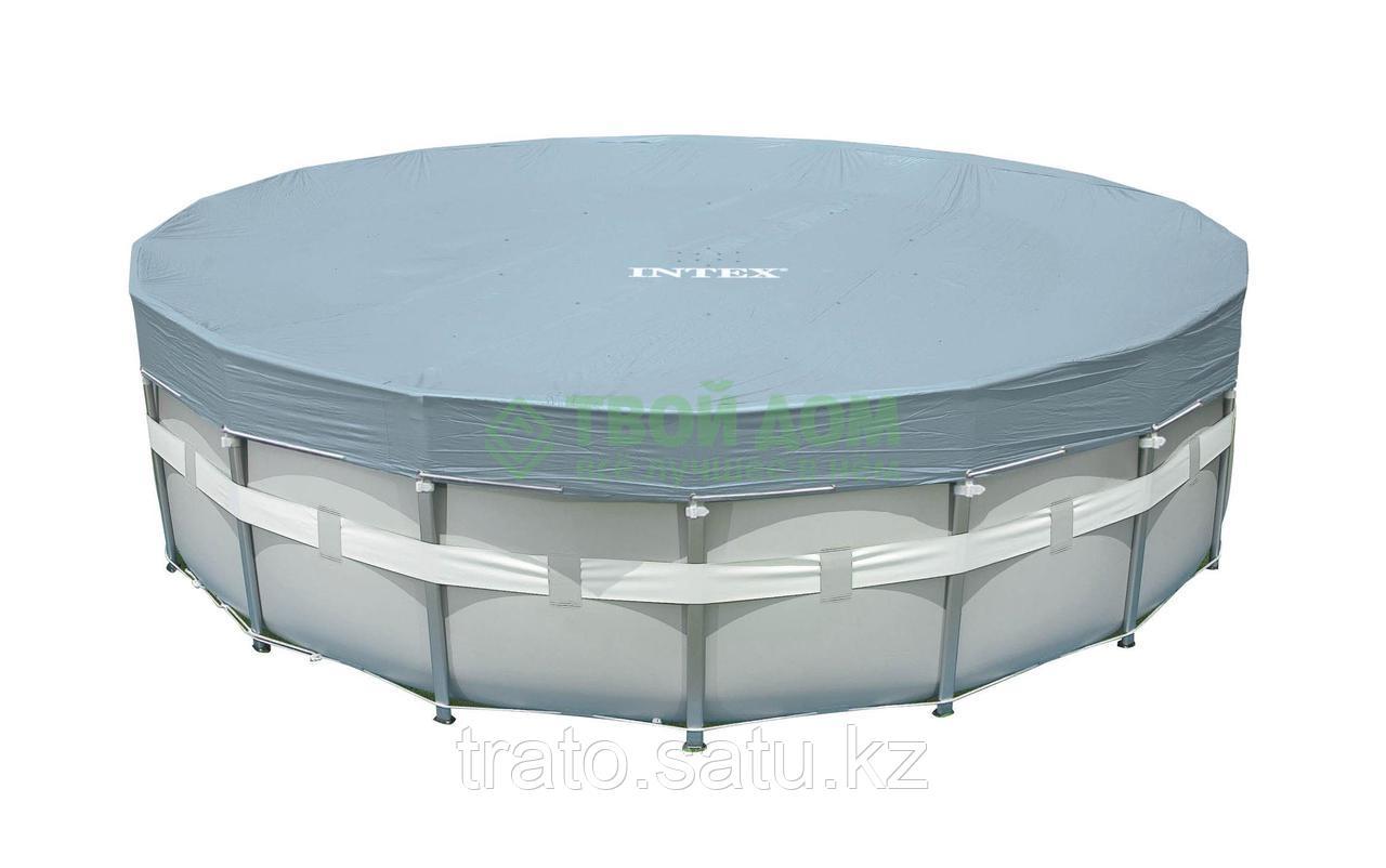 Тент для каркасного бассейна INTEX 488 см