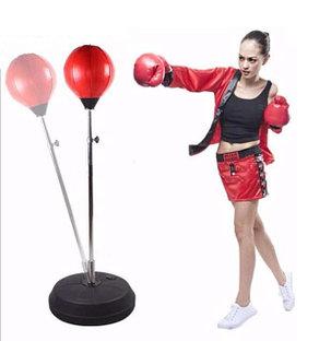 Боксерский набор для отработки удара напольный, фото 2