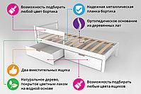 Детская кровать Бельмарко «Skogen classic бежевый», фото 3