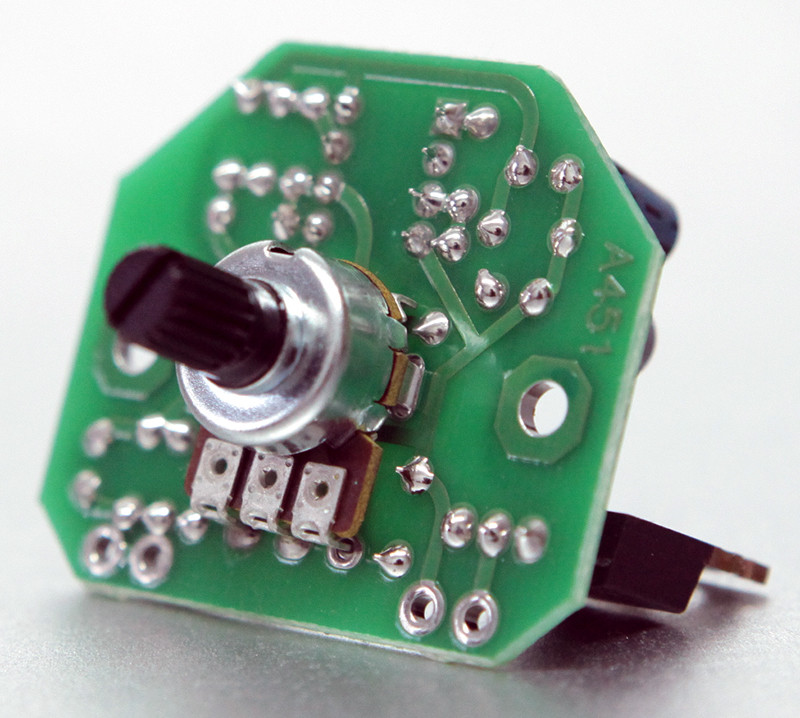 Регулятор (диммер) мощности нагрузки постоянного тока 6-24V (50A)