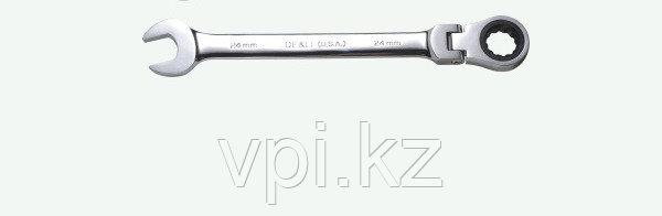 Рожково-накидной ключ с трещеткой 16мм De&Li