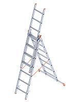 Лестница 3-х секционная (тип А) в Атырау 3x9 ступень(3x247=741 см)
