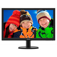 Монитор Philips 23.6 243V5LSB (10/62), черный