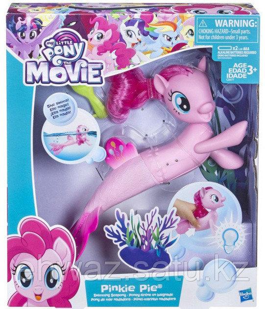 My Little Pony Игровой набор Мерцание Интерактивная Пинки Пай, цвет: розовый