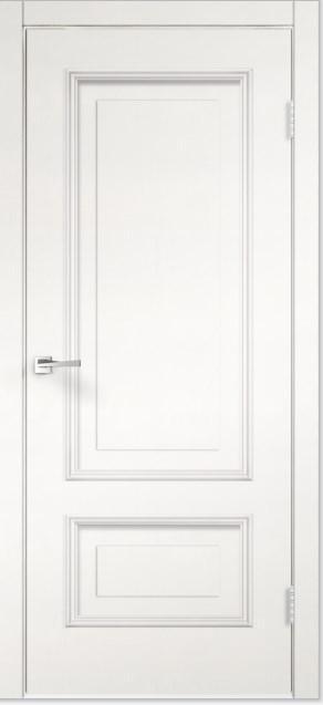 Межкомнатная двери из пвх модель Империя пломбир ДГ