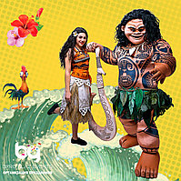 Аниматор Моана и Мауи