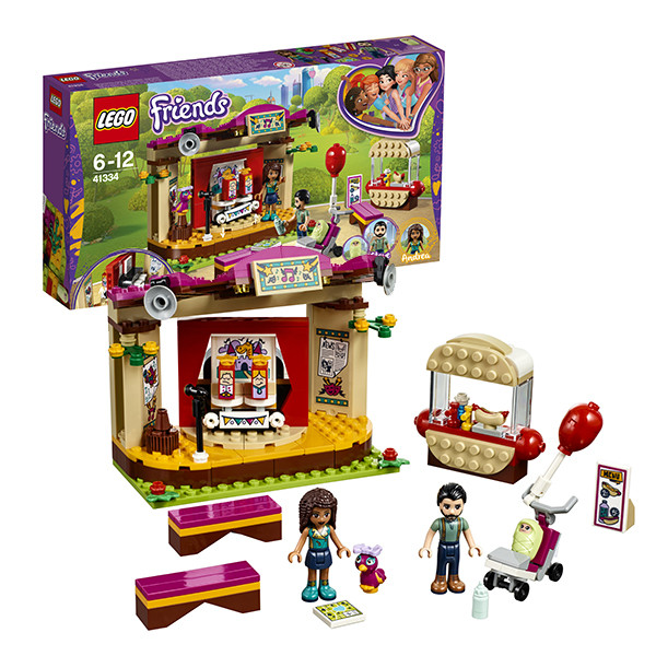 Конструктор Lego Friends  Сцена Андреа в парке