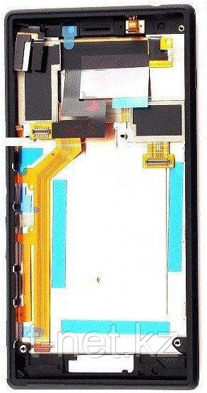 Дисплей Sony Xperia M2 , с сенсором, цвет черный
