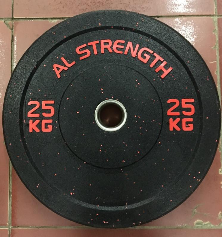 Бамперные блины для штанги AL STRENGTH 25 кг