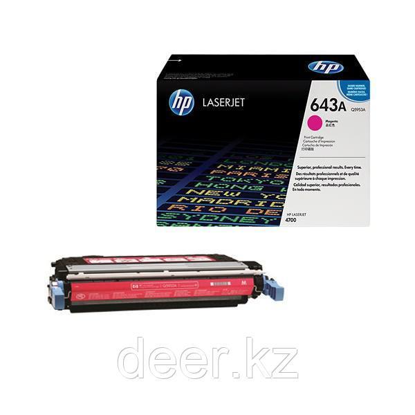 Картридж лазерный HP Q5953A, красный, На 10000 страниц для HP LaserJet 4700