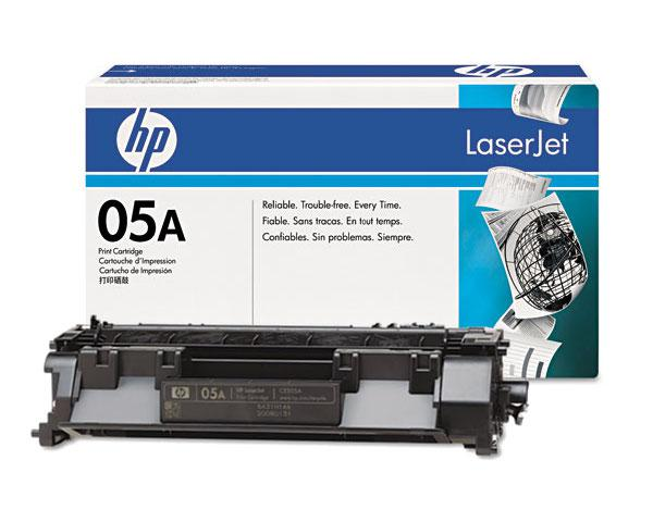 Картридж лазерный HP CE505A Black Print Cartridge for LaserJet P2035 /P2055, up to 2,300 pages