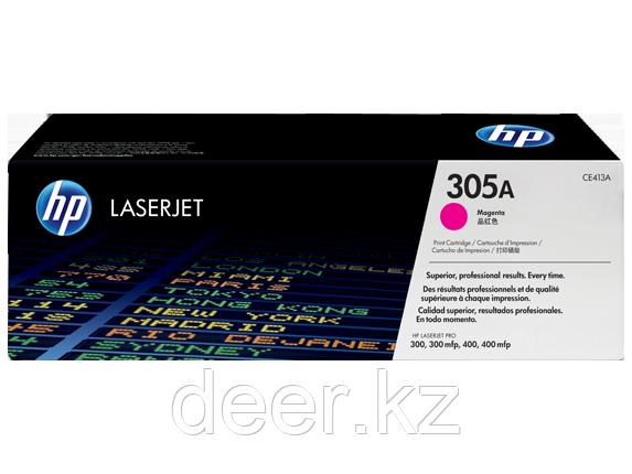 Картридж лазерный HP CE413A 305A, 300/300mlp, 400/400mlp, 2600 стр, пурпурный