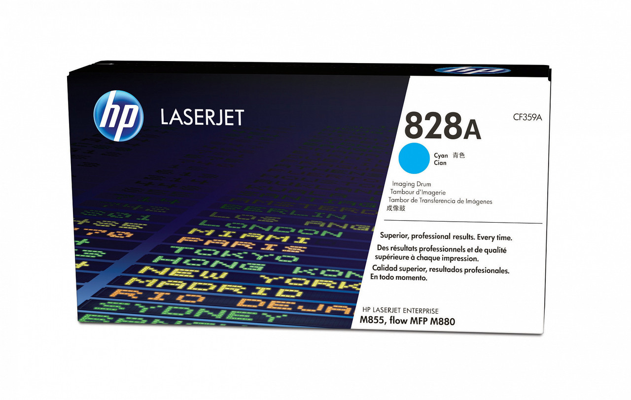 Картридж лазерный HP CF359A Dram, для принтеров HP ColorLaserJet M855XH series, голубой