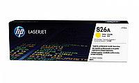 Картридж лазерный HP CF312A, для принтеров HP ColorLaserJet M855XH series, желтый