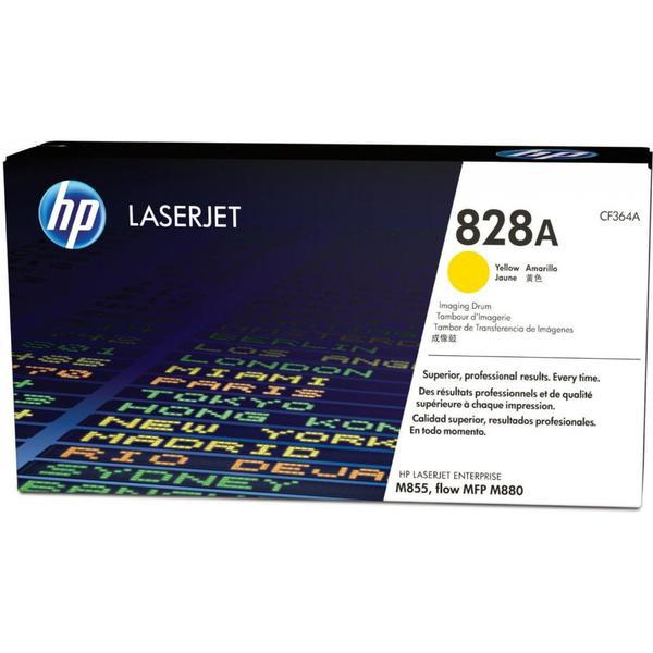 Картридж лазерный HP CF364A Dram, для принтеров HP ColorLaserJet M855XH series, желтый