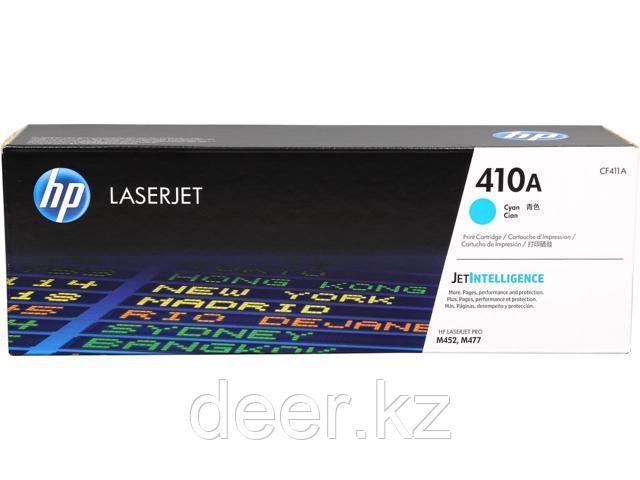 Картридж лазерный HP Inc 410A, CF411A, Голубой, совместимые товары HP LaserJet Pro M377, 452, 477