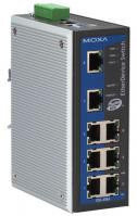 MOXA EDS-408A Entry level Industrial Redundant Ethernet switch with 8 10/100 BaseTx VALN