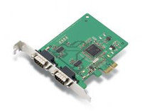 MOXA CP-102E 2-port RS-232 PCI Express x1 serial board