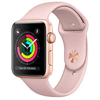 Apple Watch Sport Series 3 38mm Gold Aluminium Pink Sand Sport Band