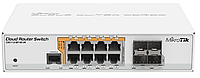 MikroTik Cloud Router Switch 112-8P-4S-IN