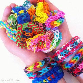 Rainbow Loom / Браслетики Резинки