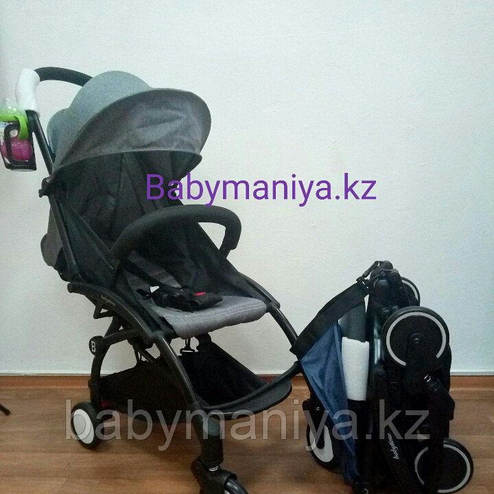 Детская Коляска BabyTime компактная и удобная Серый(аналог YoYo)