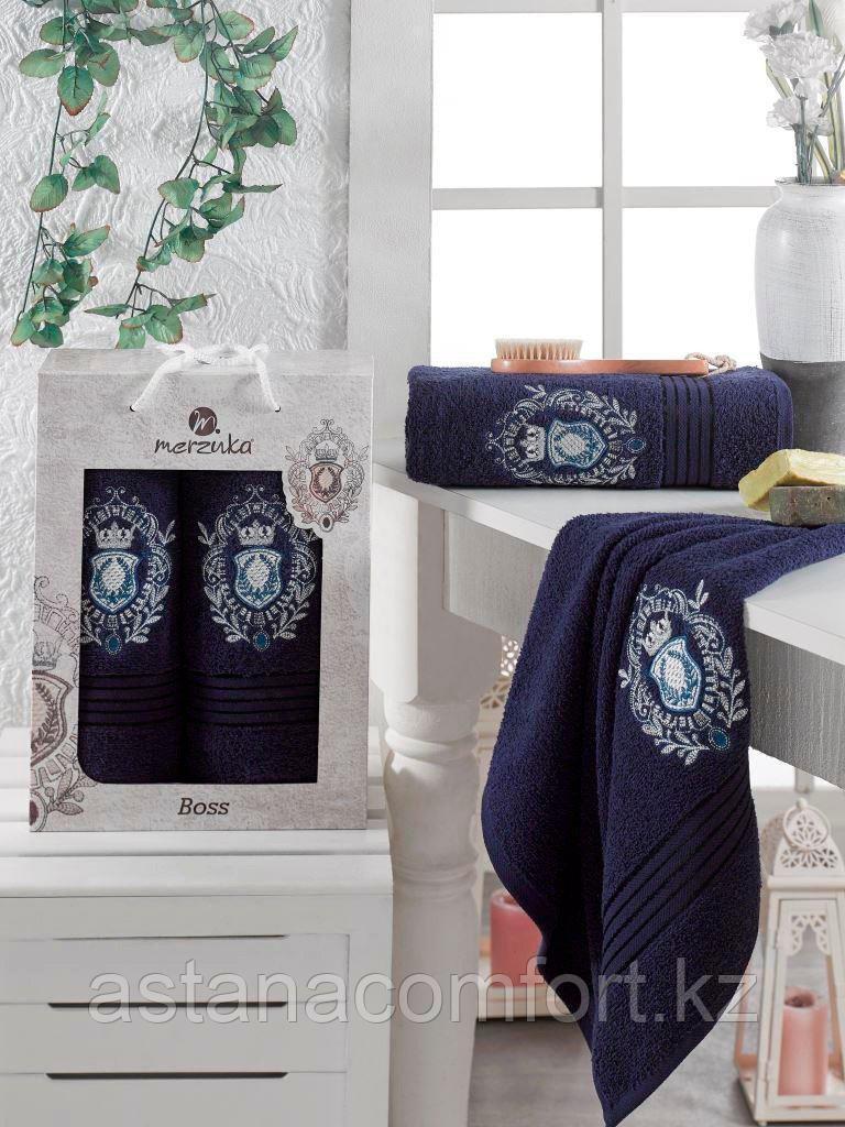 Подарочный набор полотенец. Банное + лицевое.