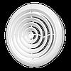 Диффузор приточно-вытяжной со стопорным кольцом и фланцем 12.5DK