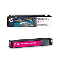 Картридж струйный HP L0R10A 981X High Yield Magenta Original PageWide для PageWide Enterprise Color556/586