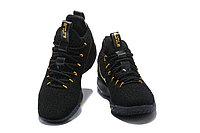 """Баскетбольные кроссовки Nike LeBron XV (15) Low """"Black/Gold"""" (40-46), фото 3"""