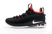 "Баскетбольные кроссовки Nike LeBron XV (15) Low ""Bred"" (40-46), фото 3"