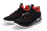 "Баскетбольные кроссовки Nike LeBron XV (15) Low ""Bred"" (40-46), фото 2"