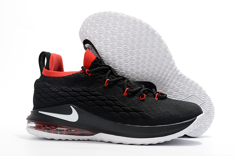 "Баскетбольные кроссовки Nike LeBron XV (15) Low ""Bred"" (40-46)"
