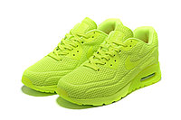 "Летние кроссовки Nike Air Max 90 Ultra BR ""Fluorescent Yellow"" (36-45), фото 2"