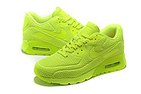 "Летние кроссовки Nike Air Max 90 Ultra BR ""Fluorescent Yellow"" (36-45), фото 1"