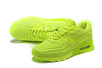 "Летние кроссовки Nike Air Max 90 Ultra BR ""Fluorescent Yellow"" (36-45), фото 4"