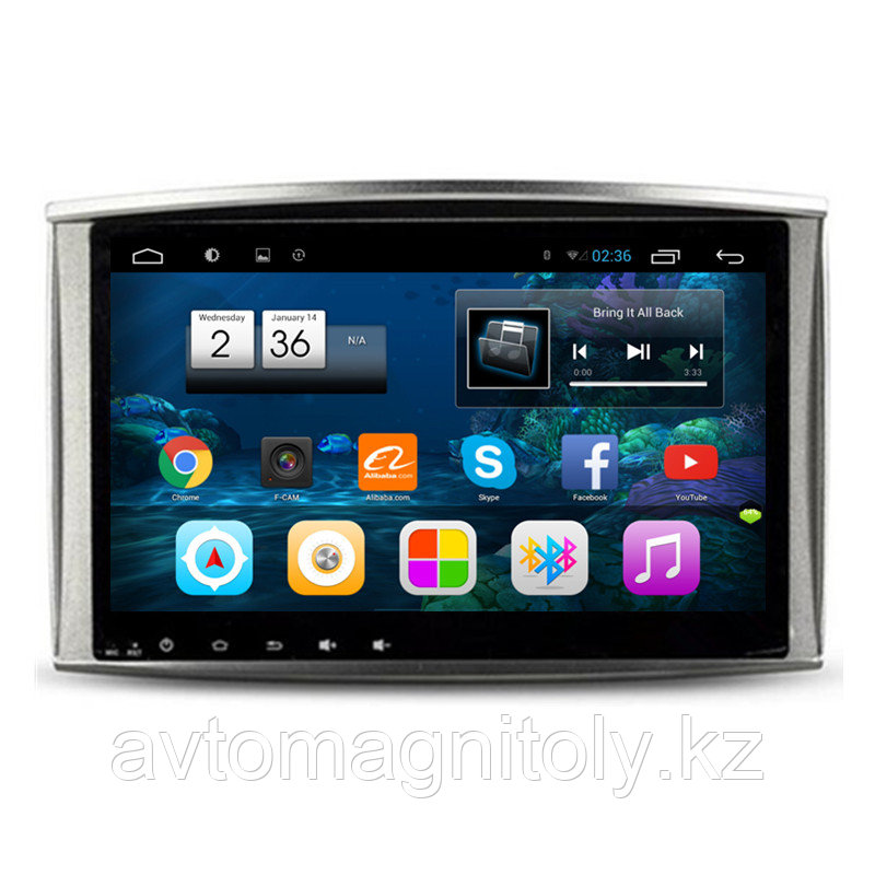 Автомагнитола Klever Brain(DSK) Toyota Land Cruiser 100 Android